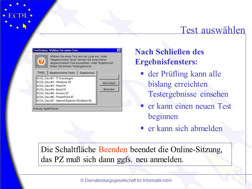 © Dienstleistungsgesellschaft für Informatik mbH