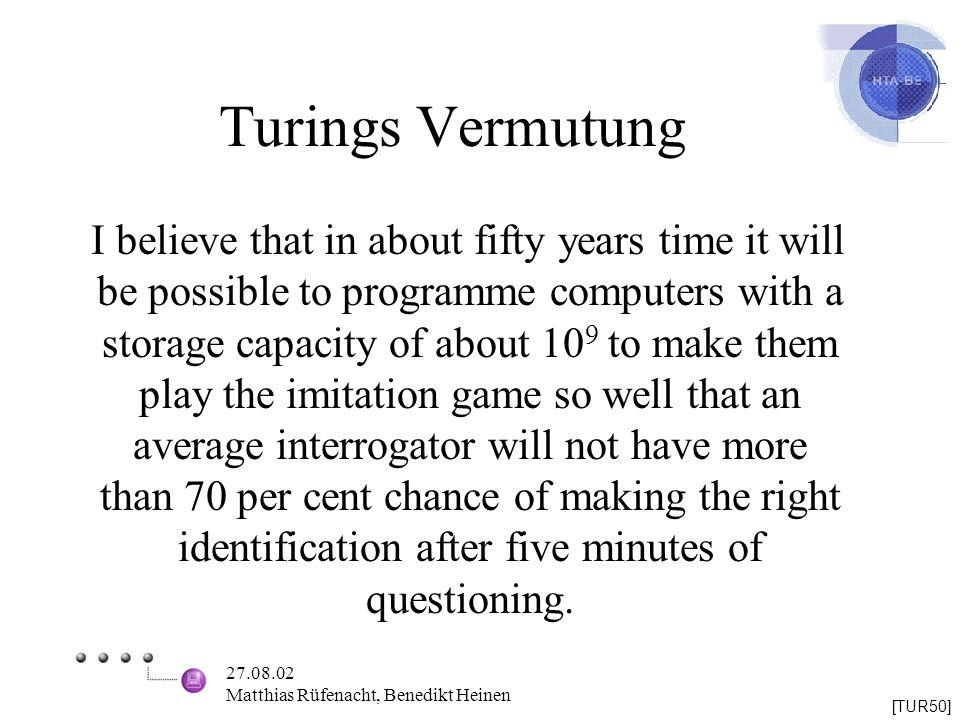 Turings Vermutung