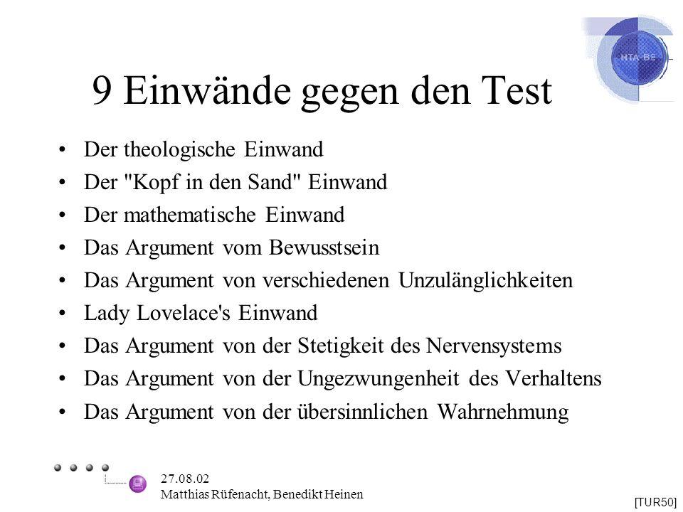 9 Einwände gegen den Test