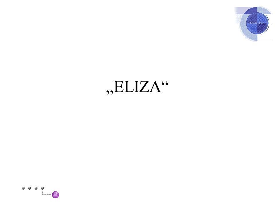 """""""ELIZA"""