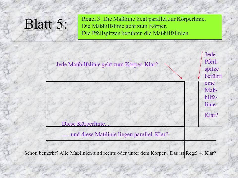 Blatt 5: