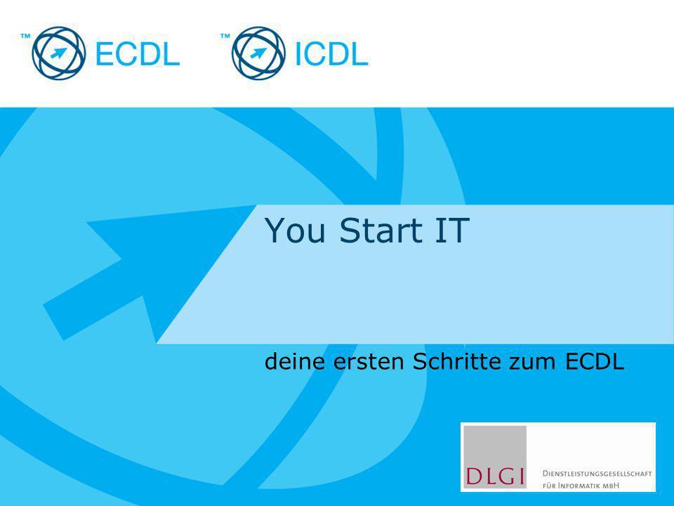 deine ersten Schritte zum ECDL