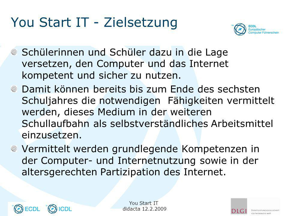 You Start IT - Zielsetzung