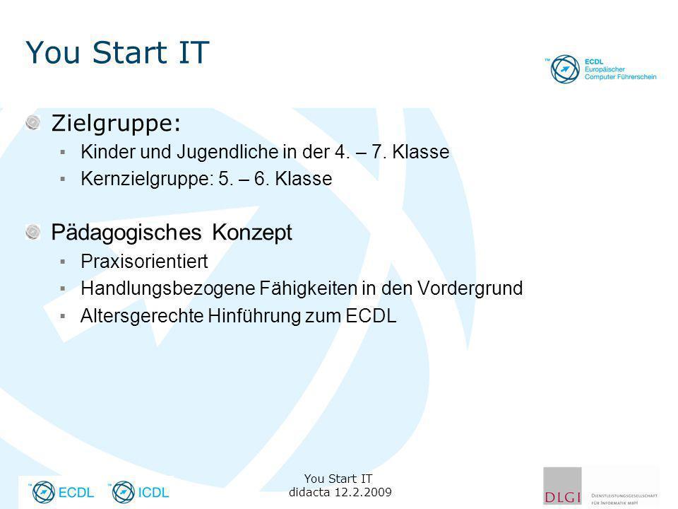 You Start IT Zielgruppe: Pädagogisches Konzept