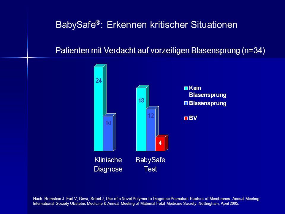 BabySafe®: Erkennen kritischer Situationen