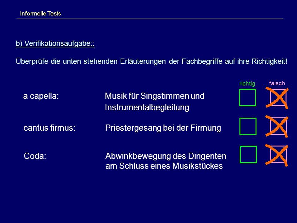 Musik für Singstimmen und Instrumentalbegleitung