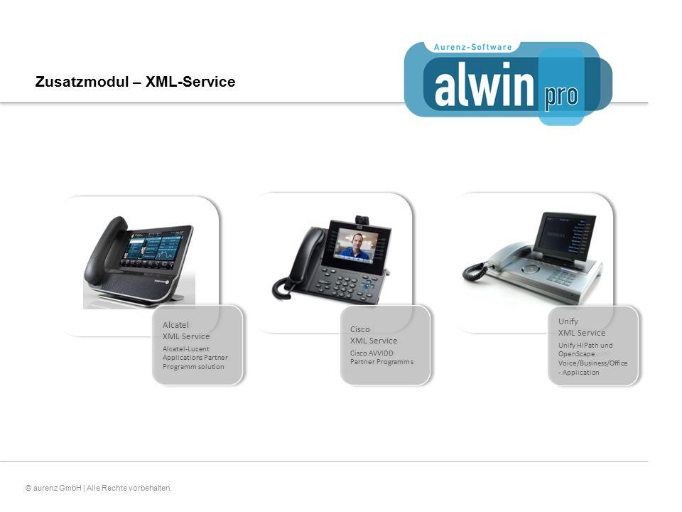 Zusatzmodul – XML-Service