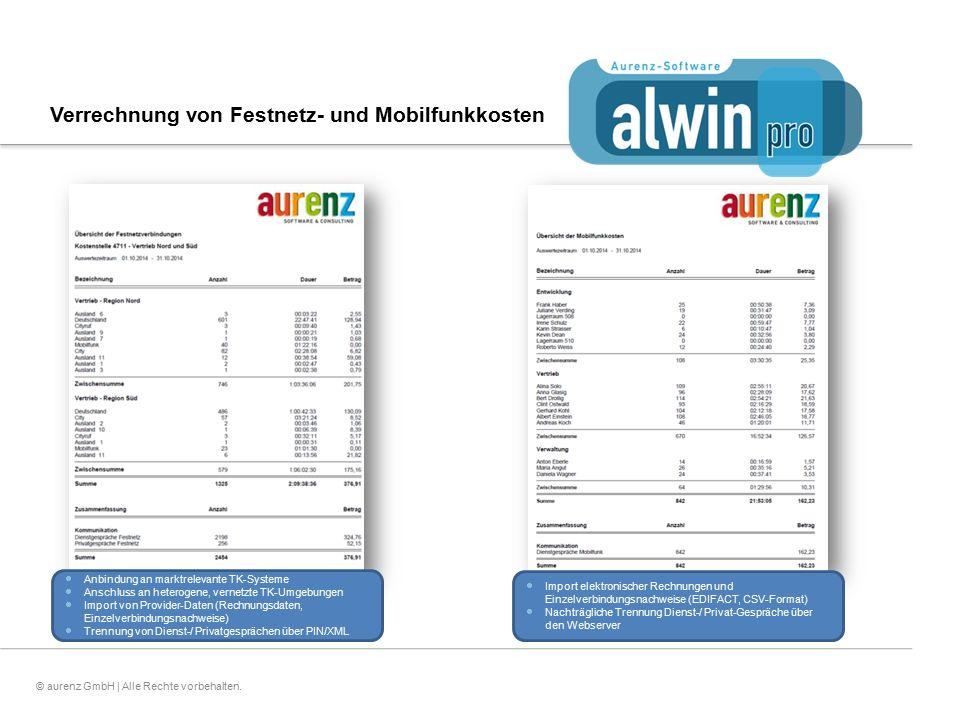 Verrechnung von Festnetz- und Mobilfunkkosten