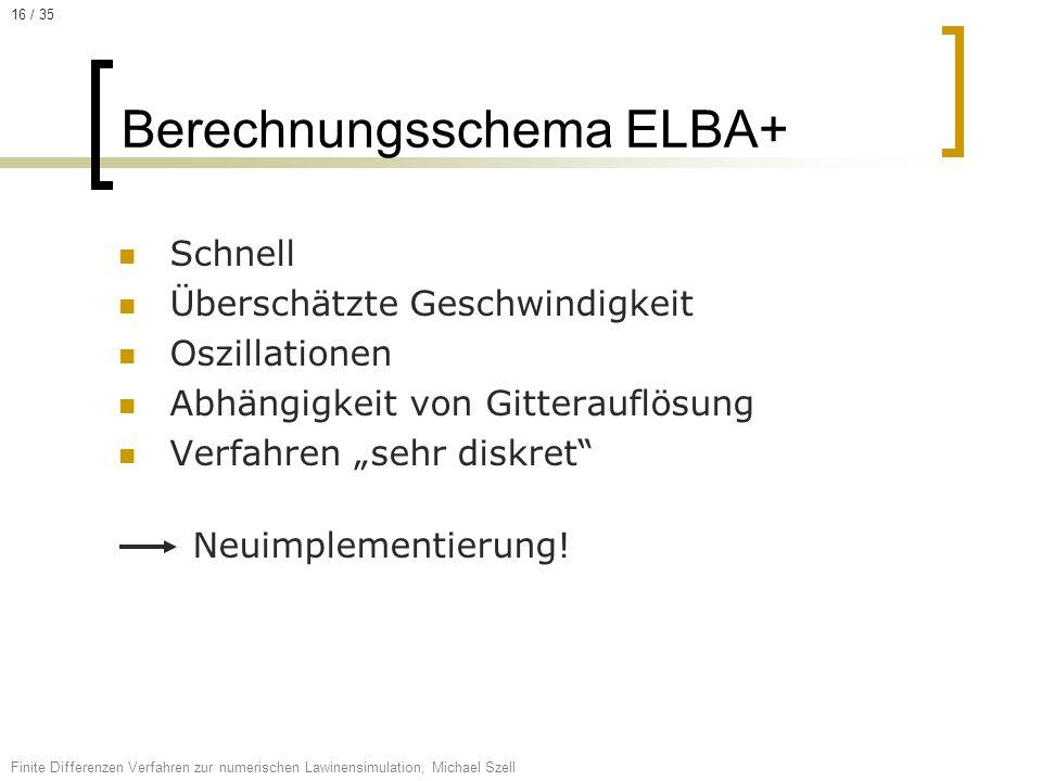 Berechnungsschema ELBA+