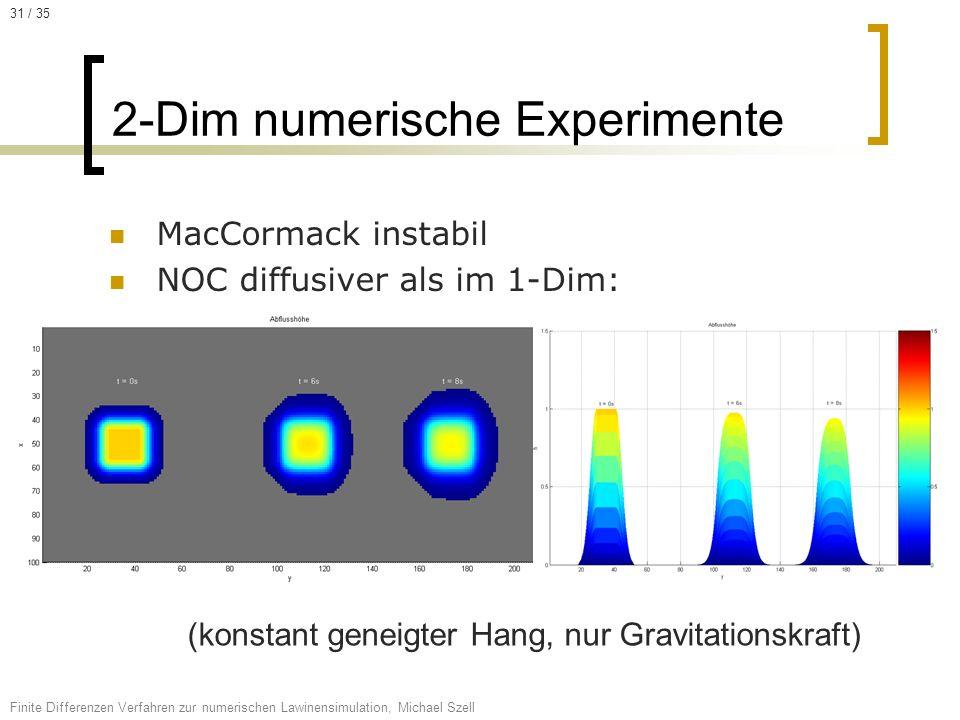 2-Dim numerische Experimente