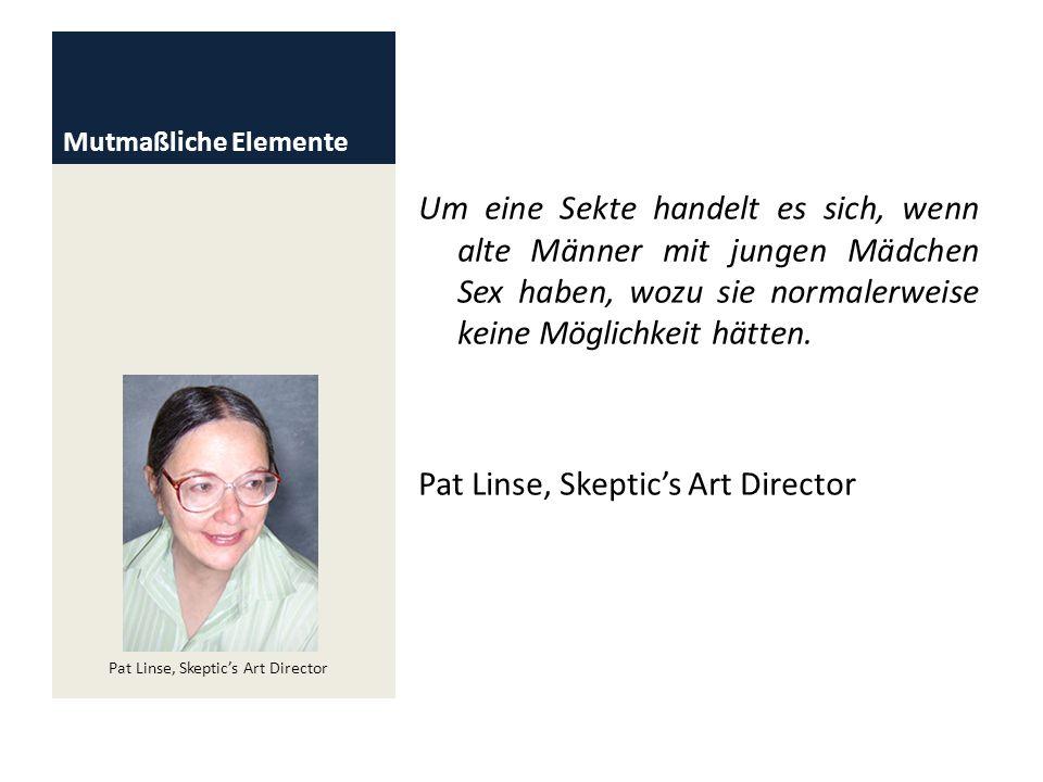 Pat Linse, Skeptic's Art Director