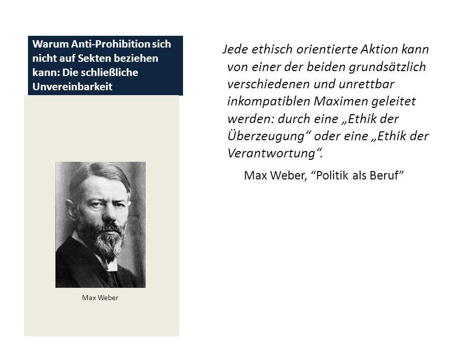 Max Weber, Politik als Beruf