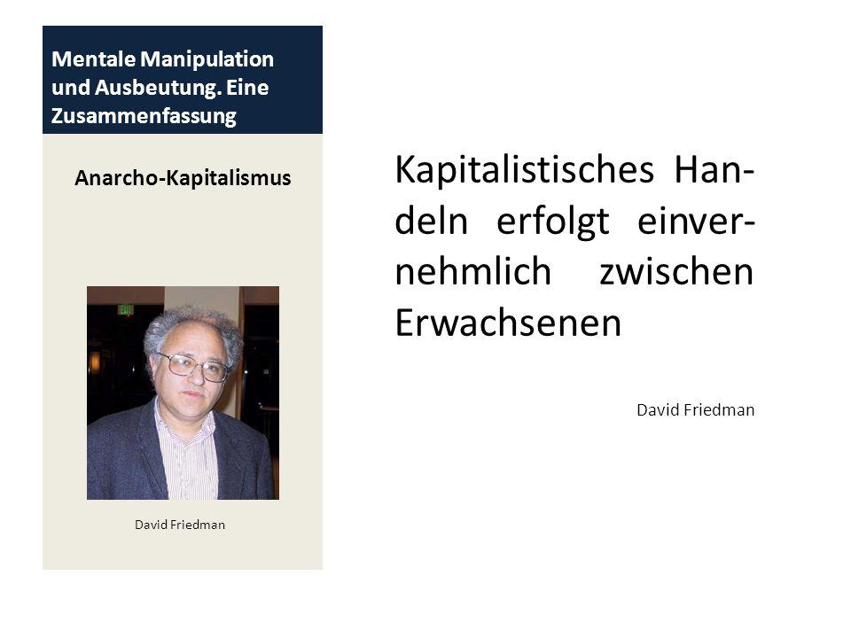 Mentale Manipulation und Ausbeutung. Eine Zusammenfassung
