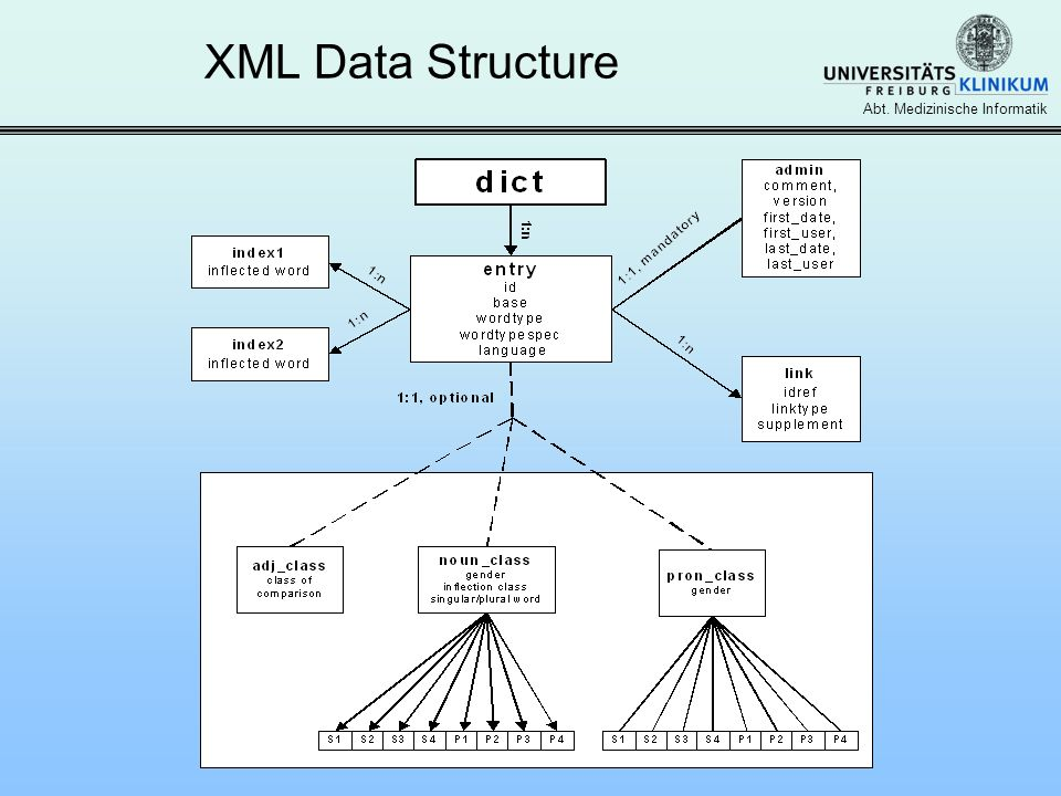 XML Data Structure