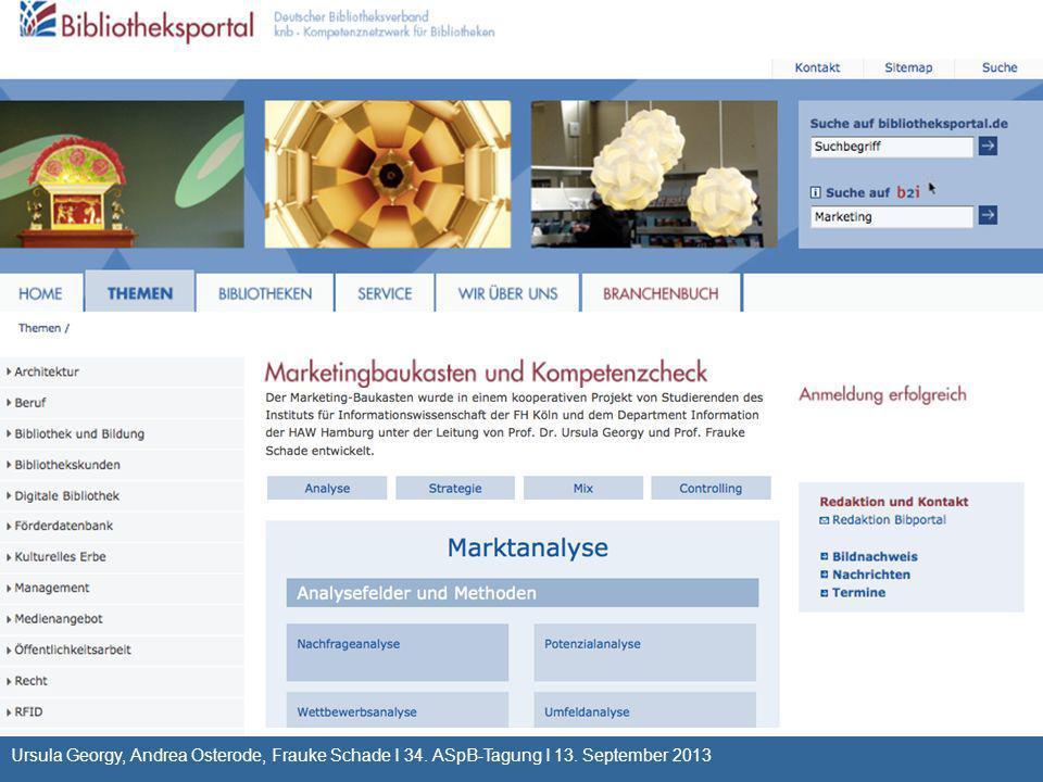 Ursula Georgy, Andrea Osterode, Frauke Schade I 34. ASpB-Tagung I 13