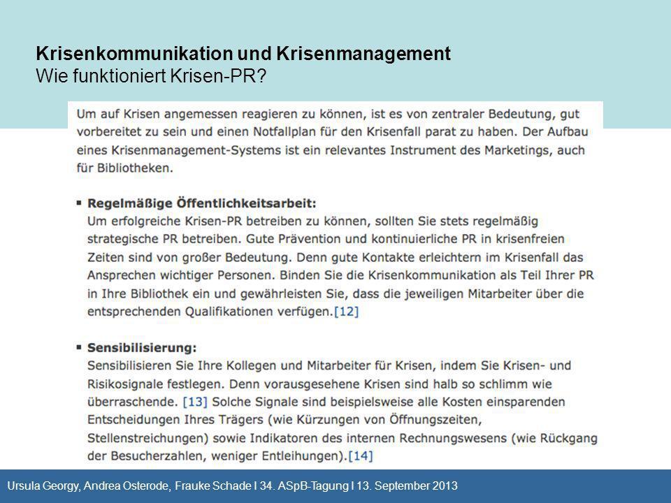 Krisenkommunikation und Krisenmanagement Wie funktioniert Krisen-PR