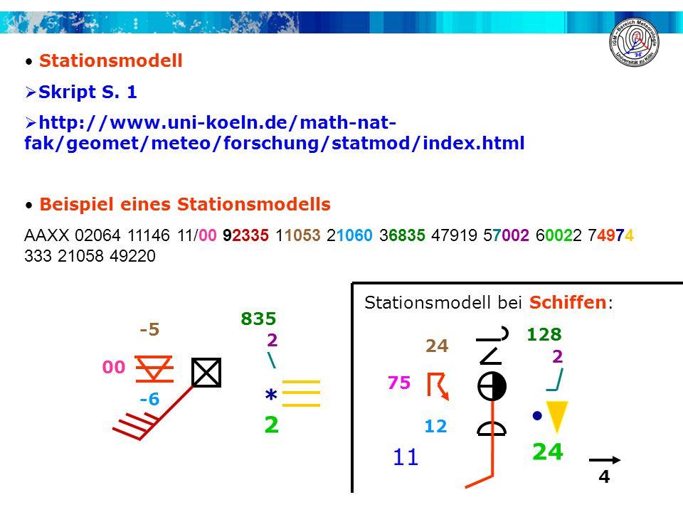 . * 2 11 Stationsmodell Skript S. 1