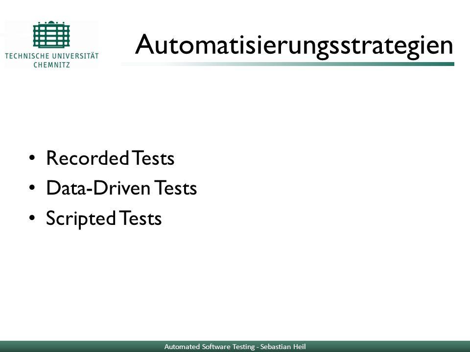 Automatisierungsstrategien
