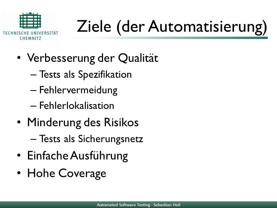 Ziele (der Automatisierung)