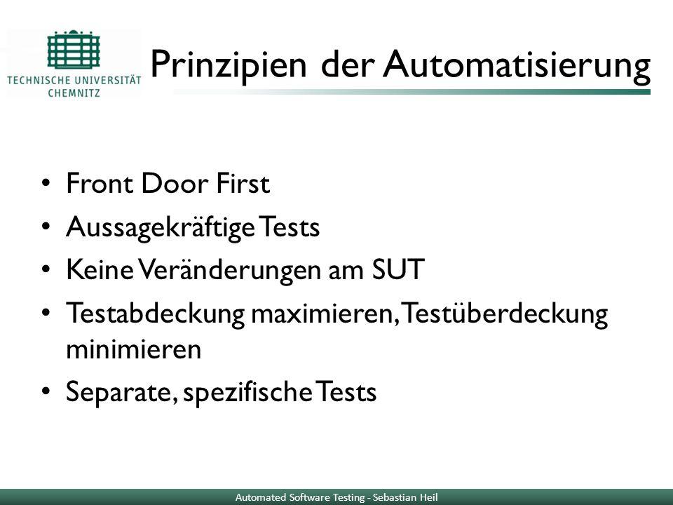 Prinzipien der Automatisierung
