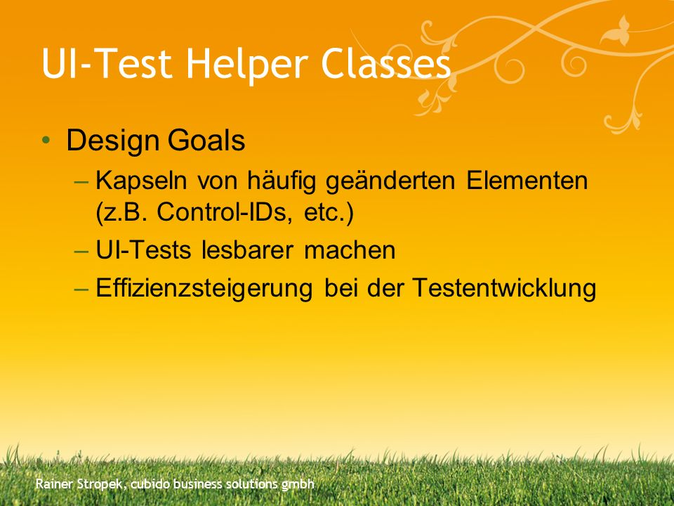 UI-Test Helper Classes
