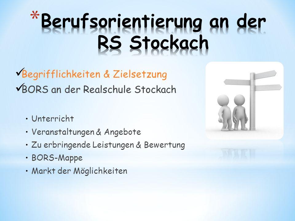 Berufsorientierung an der RS Stockach