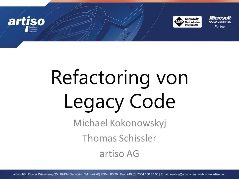 Refactoring von Legacy Code