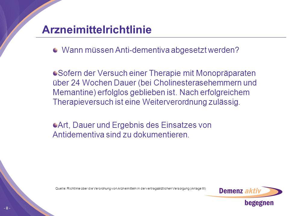 Arzneimittelrichtlinie