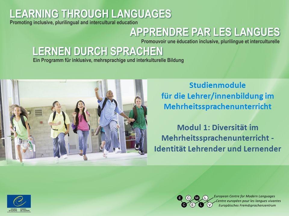 Studienmodule für die Lehrer/innenbildung im Mehrheitssprachenunterricht