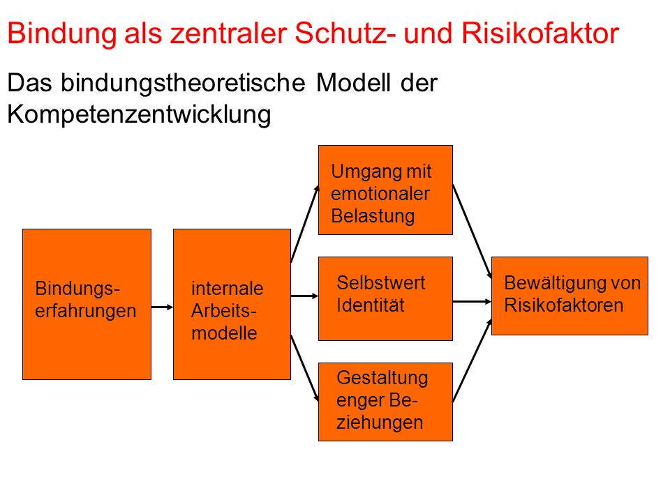Bindung als zentraler Schutz- und Risikofaktor