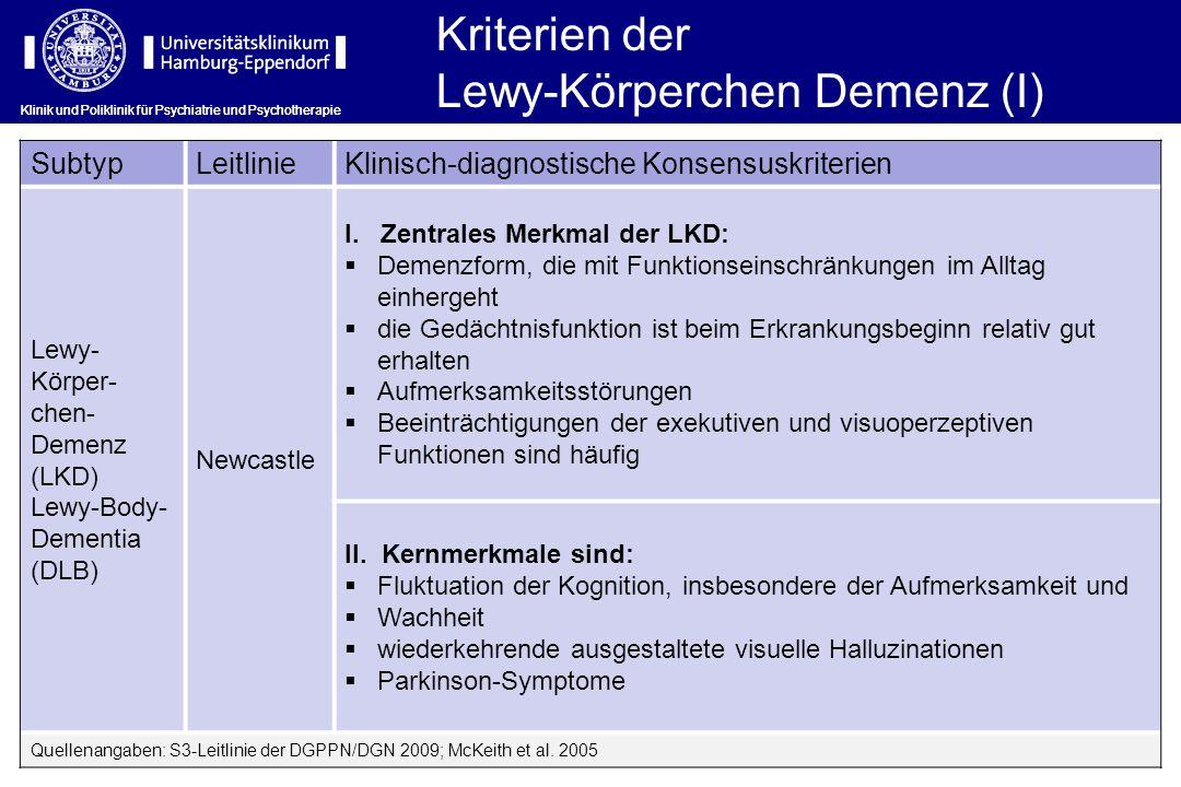 Lewy-Körperchen Demenz (I)