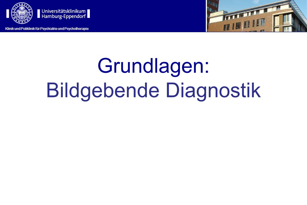 Bildgebende Diagnostik