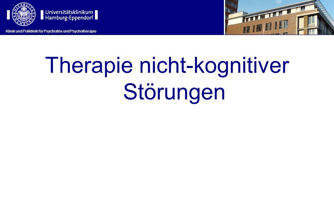 Therapie nicht-kognitiver Störungen