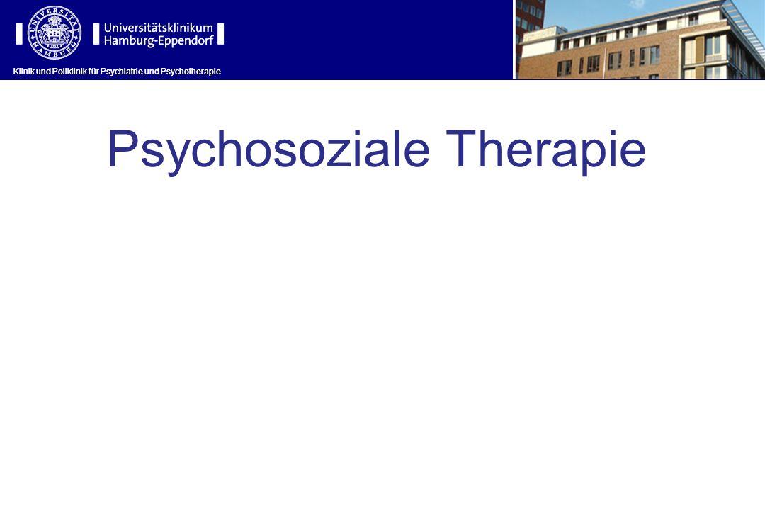Psychosoziale Therapie