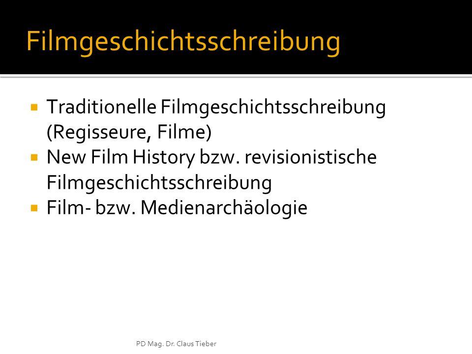 Filmgeschichtsschreibung