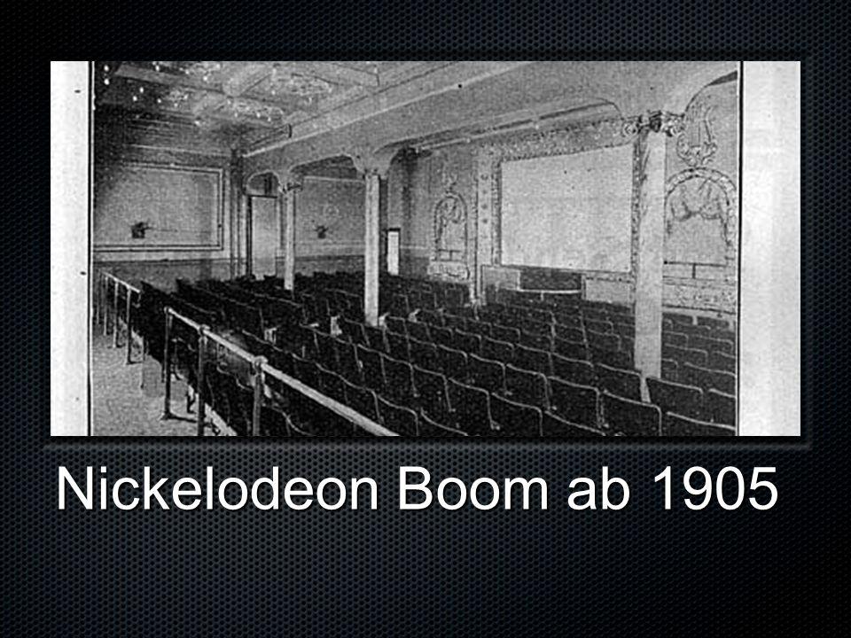 Nickelodeon Boom ab 1905