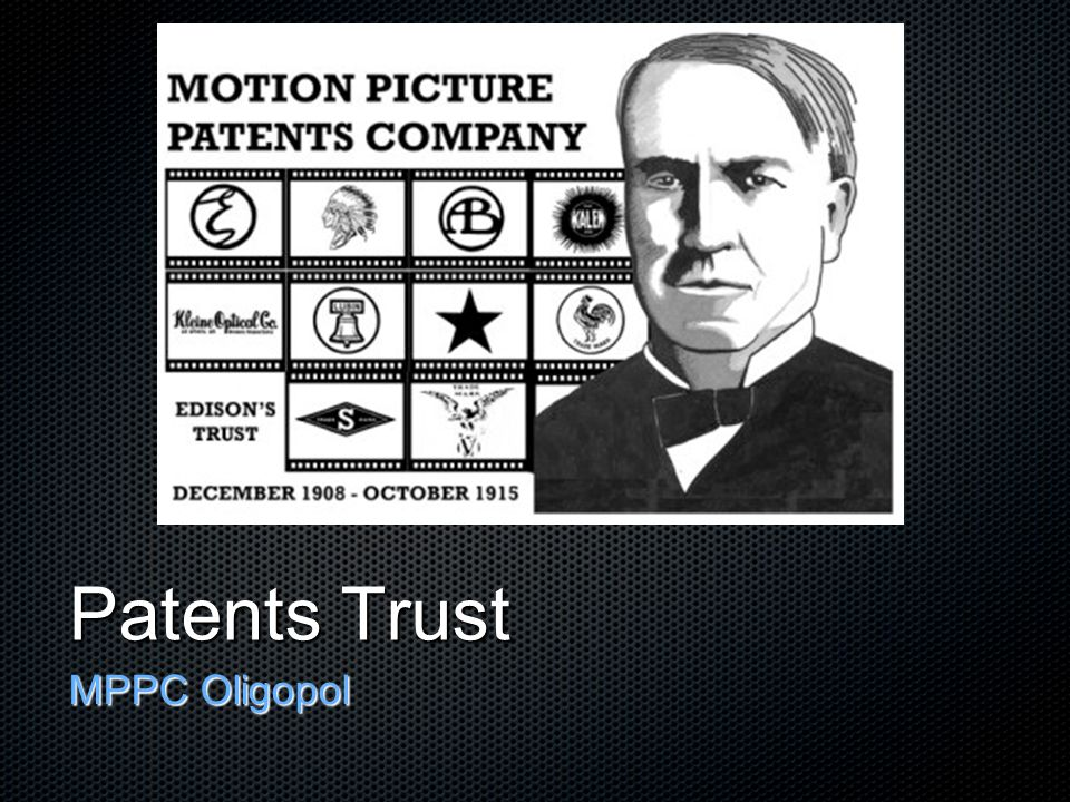 Patents Trust MPPC Oligopol