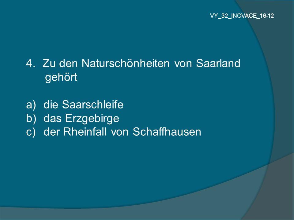 Zu den Naturschönheiten von Saarland gehört die Saarschleife