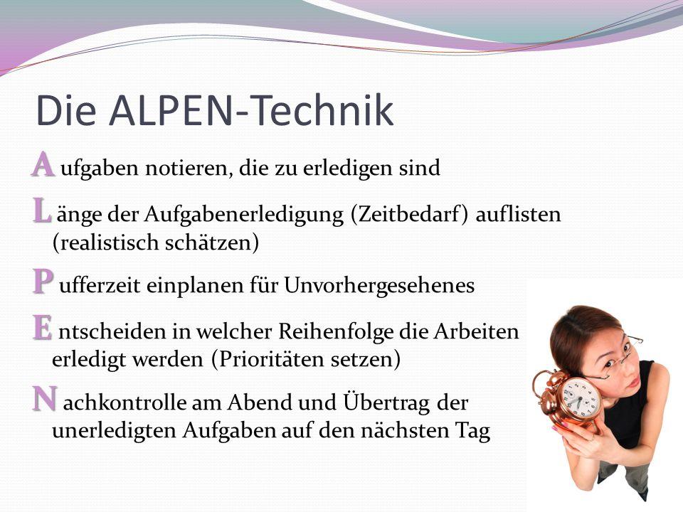 Die ALPEN-Technik
