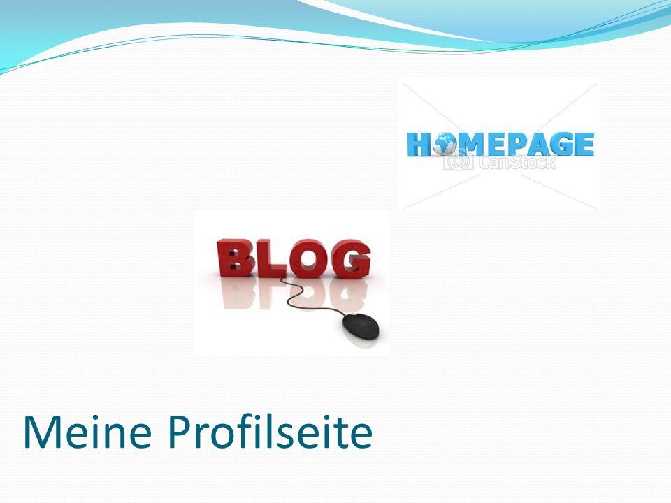 Meine Profilseite