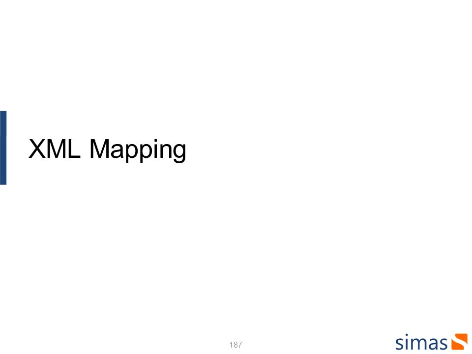 XML Mapping