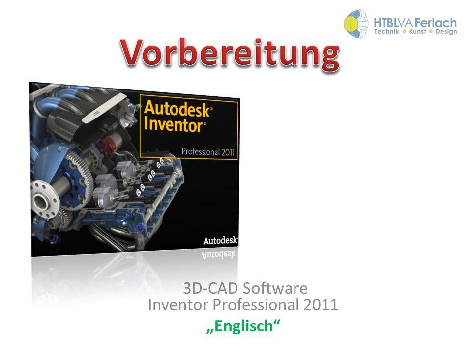 "3D-CAD Software Inventor Professional 2011 ""Englisch"
