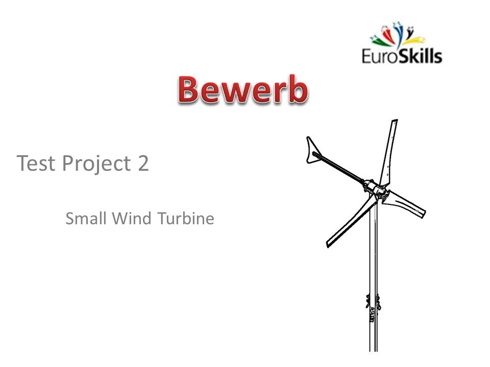 Bewerb Test Project 2 Small Wind Turbine