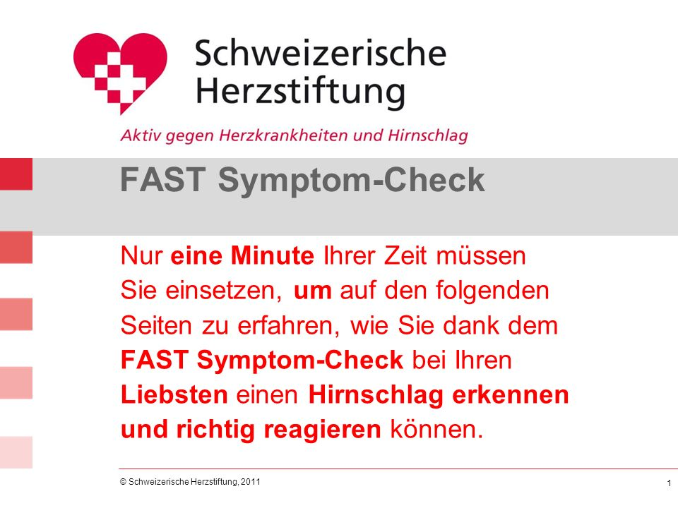 FAST Symptom-Check