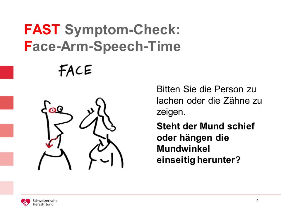 FAST Symptom-Check: Face-Arm-Speech-Time