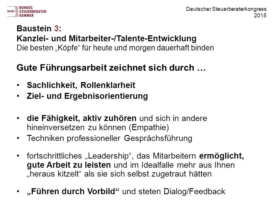 Gute Führungsarbeit zeichnet sich durch …