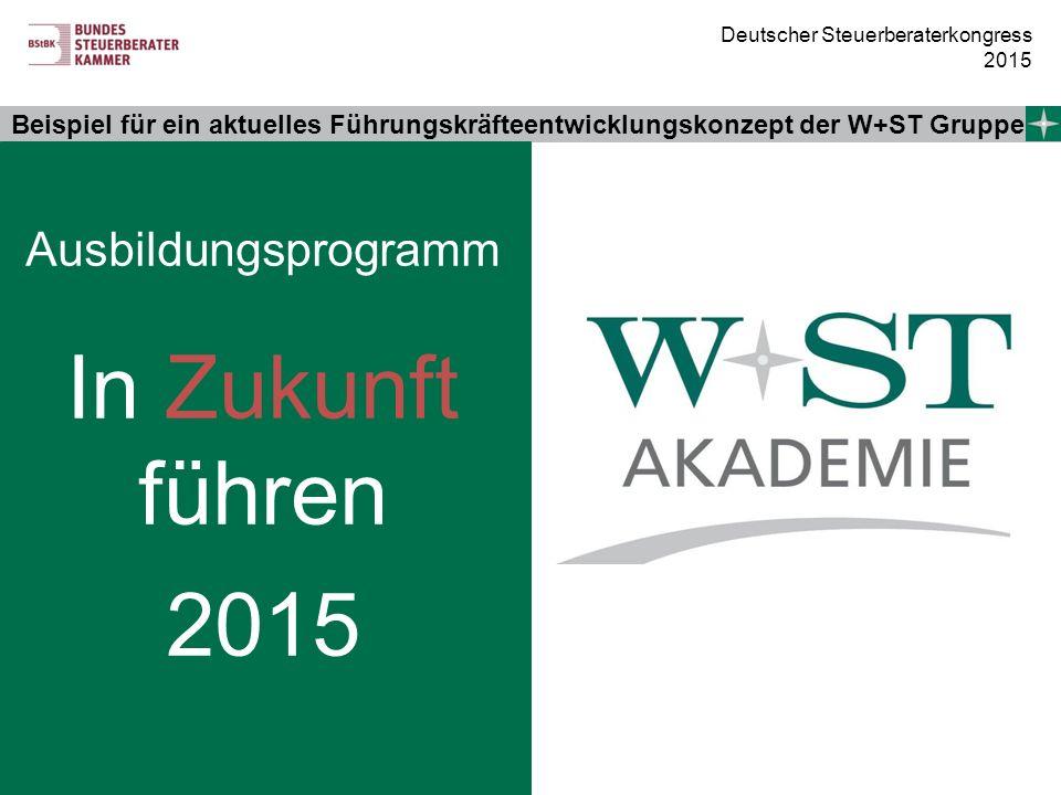 Ausbildungsprogramm In Zukunft führen 2015