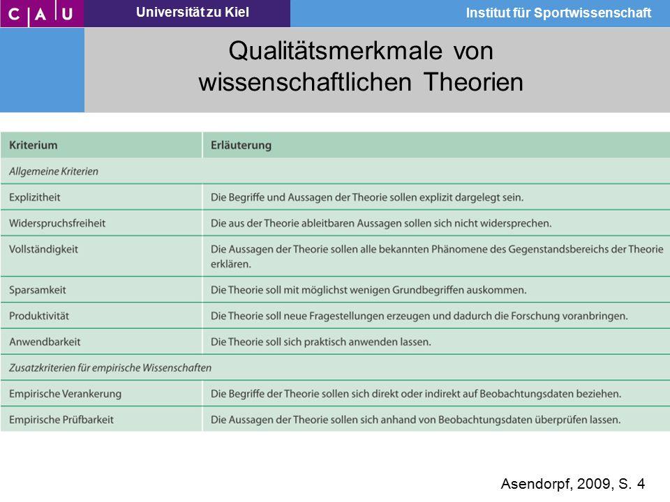 Qualitätsmerkmale von wissenschaftlichen Theorien