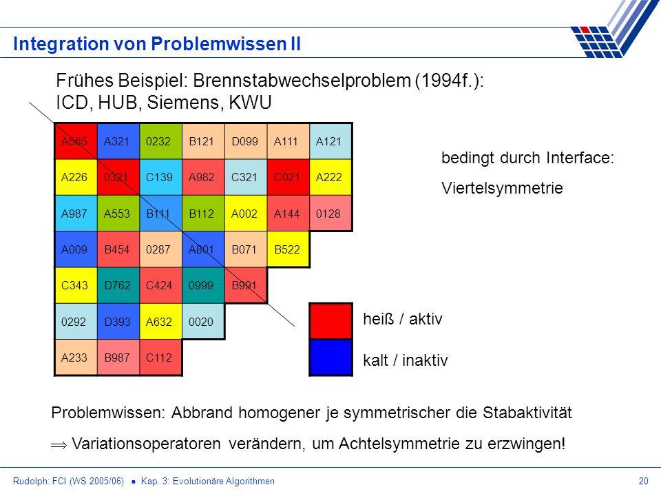 Integration von Problemwissen II