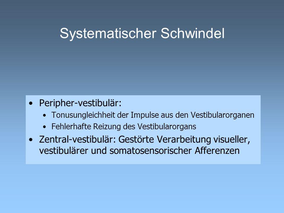 Systematischer Schwindel